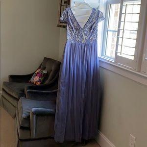 BHLDN new lavender beaded dress size 8
